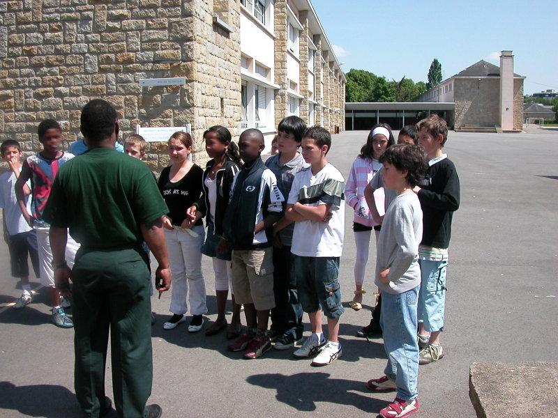 f9adda69aea Visite du collège des Gayeulles, par CM1CM2 - Ecole Marcel Pagnol